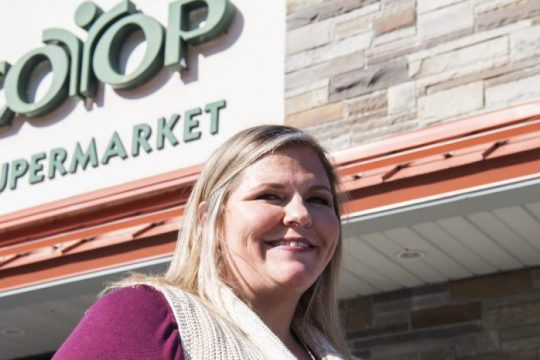 Niskayuna Coop General Manager Shannon Risley is pictured on Oct. 14.