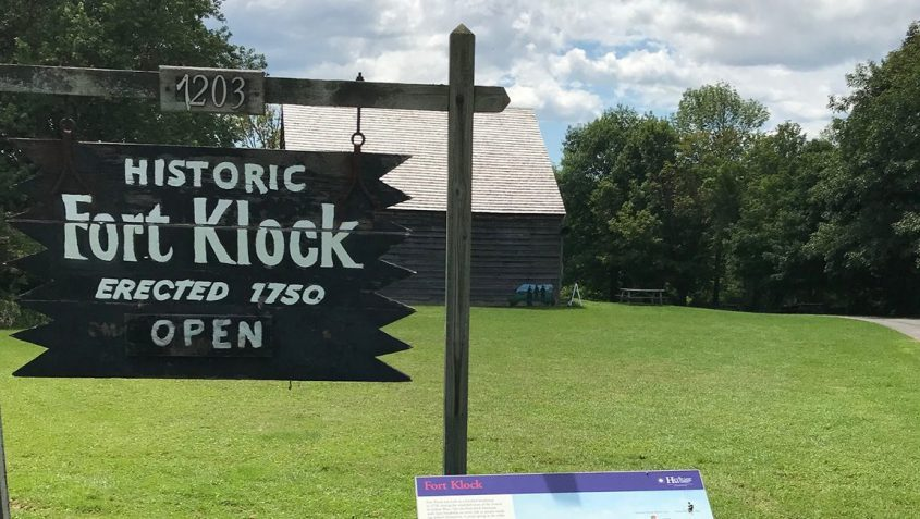 Historic Fort Klock, located on Route 5 just east of St. Johnsville, will be one of the topics discussed at this weekend's American Revolution Mohawk Valley Conference at Fulton-Montgomery Community College. (Bill Buell)