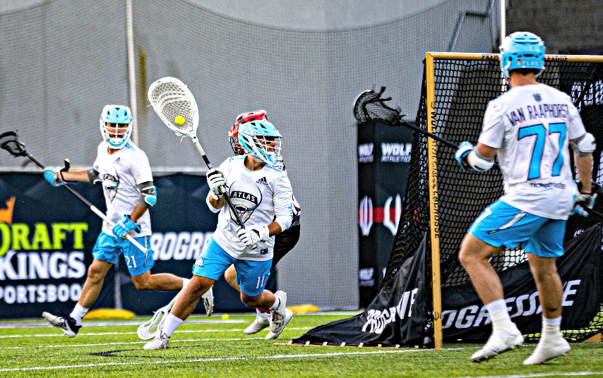 JD Colarusso, a former UAlbany men's lacrosse standout, is shown playing earlier this season for the Atlas of the PLL. The PLL visits Casey Stadium in Albany for three days of games starting Friday. (Photo courtesy Premier Lacrosse League)