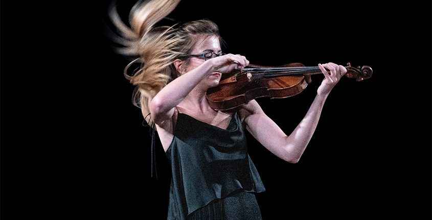 Lake George Festival Artistic Director Barbora Kolarova will perform a world premiere by Chin Ting Chan for solo violin on Aug. 24. (photo provided)
