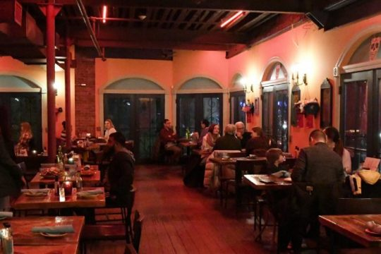 The dining area at Mexican Radiois seen in this file photo. The restaurant is among those participating in Schenectady Restaurant Week starting Monday.