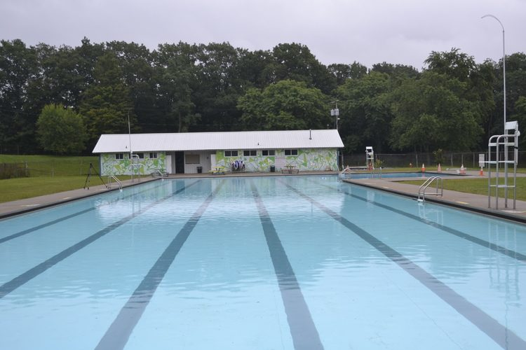 The existing pool house at Veterans Park in Amsterdam will be replace after the city of Amsterdam received $100,000 in state funding on Tuesday.