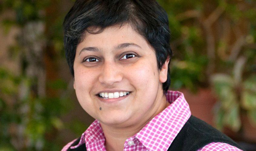 Minita Sanghvi, a Skidmore professor, is a candidate for finance commissioner in Saratoga Springs.