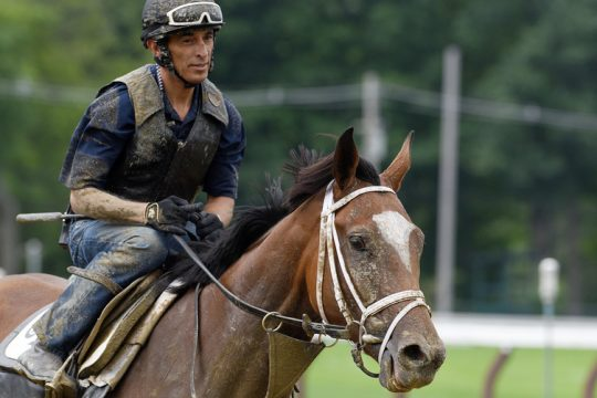 Malathaat with John Velazquez atop,is the favorite in today's Grade I Alabama Stakeson Saturday. Her trainer Todd Pletcher returned from COVID isolation Friday, just in time for final preparation.