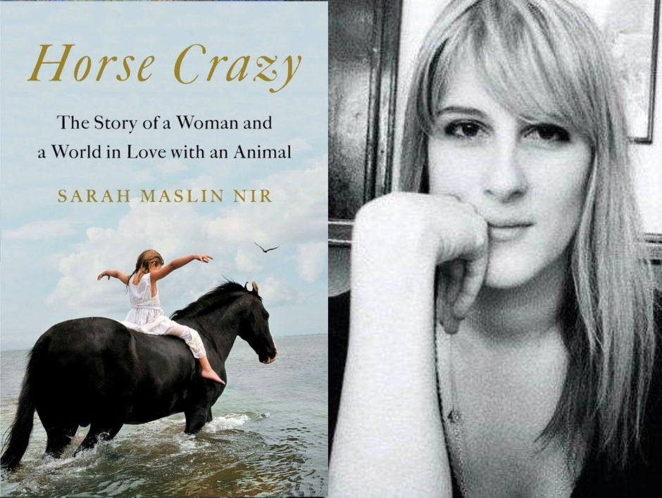 Sarah Maslin Nir and her book.