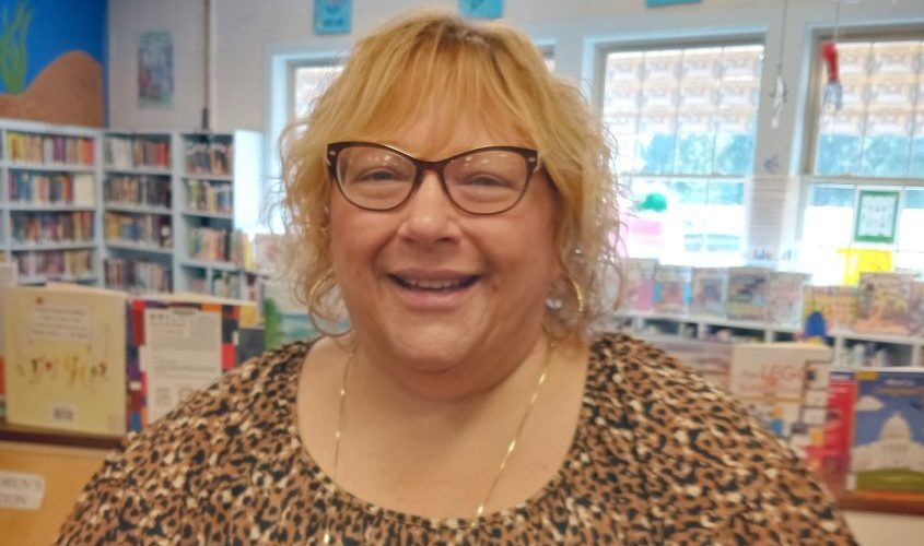 Photo submitted —Frothingham Free Library Interim Director Linda Bell