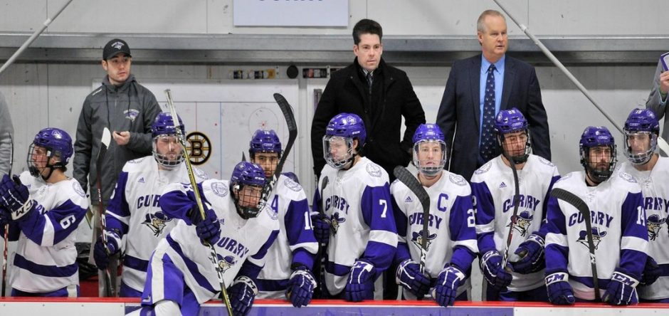 New Union College men's hockey assistant coach TJ Manastersky comes from Curry College, where was head coach since 2012-13. (Curry College photo)