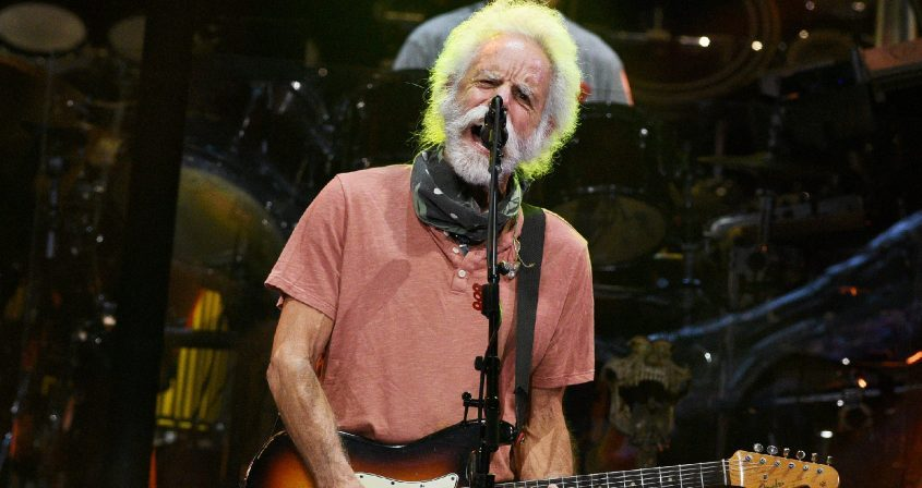 Bob Weir with Dead& Company perform at SPAC in Saratoga Springs on Friday.