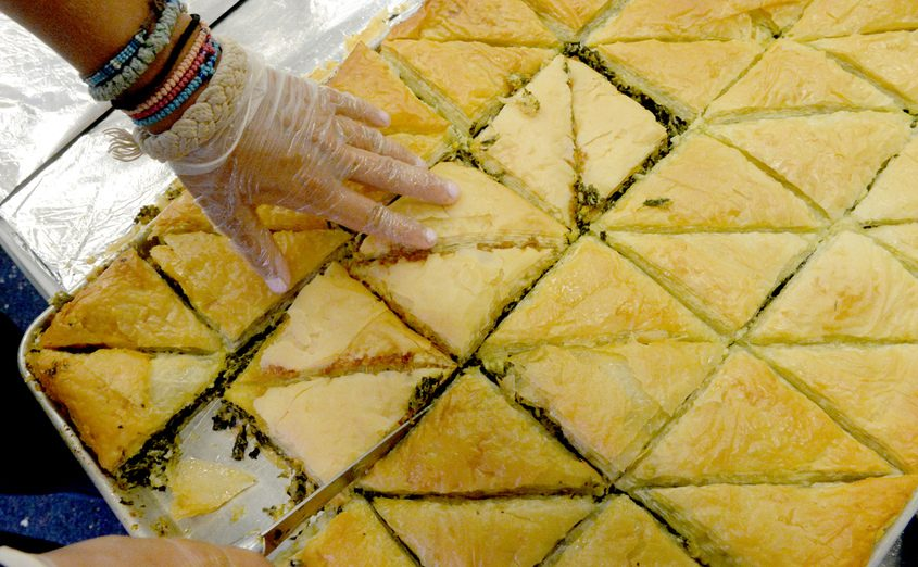 Slices of baklava at a previous St. George Greek Festival