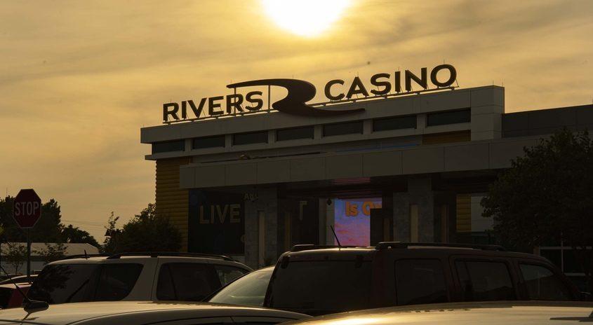 Rivers Casino & Resort in Schenectady is shown in September 2020.