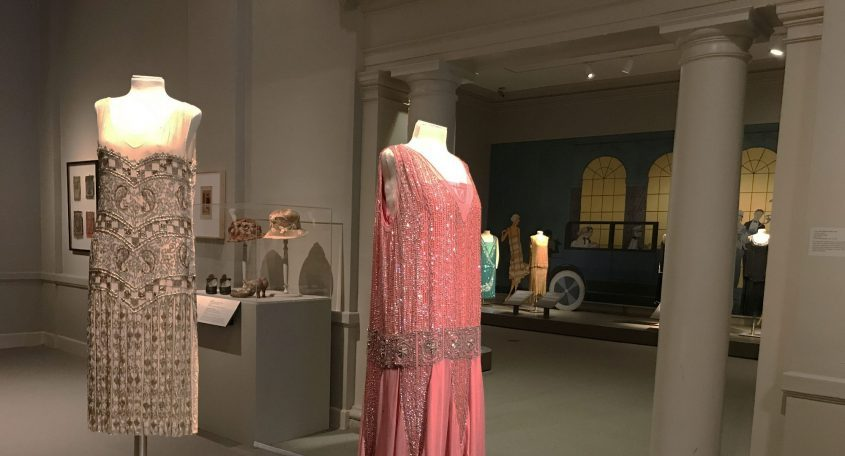 """Dresses featured in """"Fashionable Frocks of the 1920s"""" at the Albany Institute of History & Art. (photo provided)"""