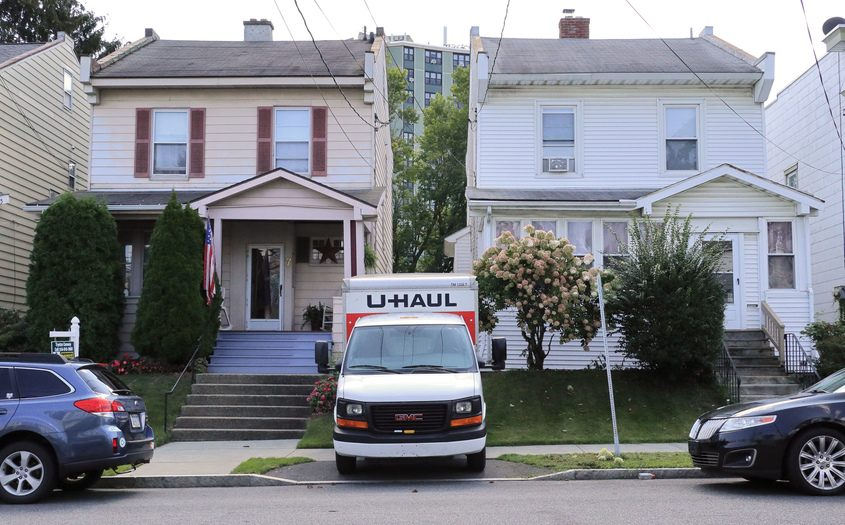 Saturday was moving day for an Albany family who is selling their longtime home and relocating elsewhere in the city.