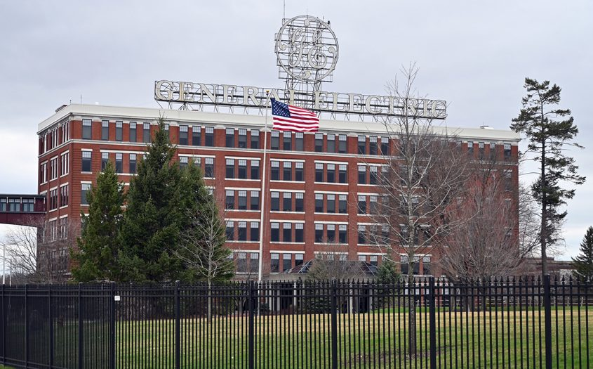General Electric's Schenectady campus is shown in this file image.
