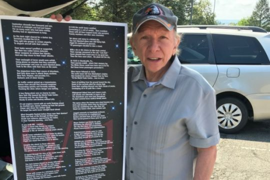 Steven Cafiero Sr., a Glenville resident who lost his son, Steven Jr., in the Sept. 11 attacks,  wrote a long poem about his son and the tragedy, which he presented to then-Gov. George Pataki.
