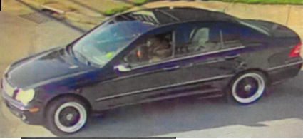 Police are seeking information on this Mercedes Benz C-240 with New Jersey license plates in connection with a fatal shooting that occurred on Sept. at 201 South Brandywine Ave. in Schenectady. The car has black and silver aftermarket rims.