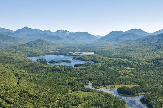 Conservation advocates say the Boreas Ponds tract in the Adirondacks should be shielded from automobiles, invasive species, and motorized or mechanized recreation. (Carl HeilII/The Adirondack Council)