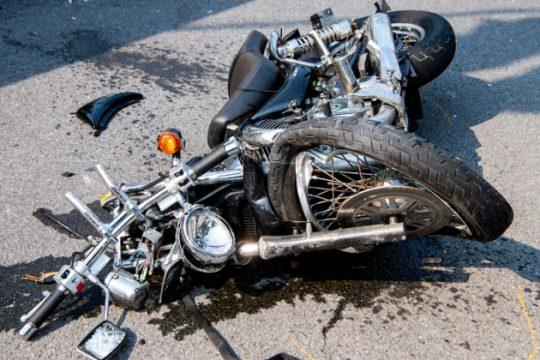 The motorcycle Sunday