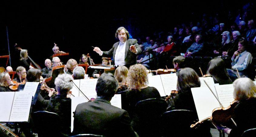 The Schenectady Symphony Orchestra performs under the baton of Glen Cortese. (Gazette file photo)