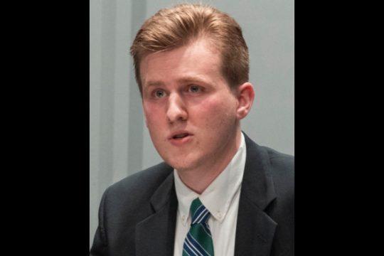 This photo shows Schenectady County Legislature candidate Brendan Savage.