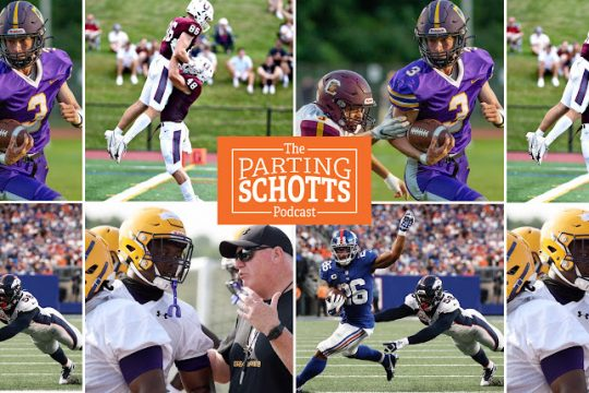 """Plenty of football talk on the latest edition of """"The Parting Schotts Podcast."""" (Gazette, The Associated Press file photos)"""