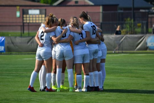 In two weeks, the Saint Rose women's soccer team has moved up to No. 3 in the Division II National rankings.