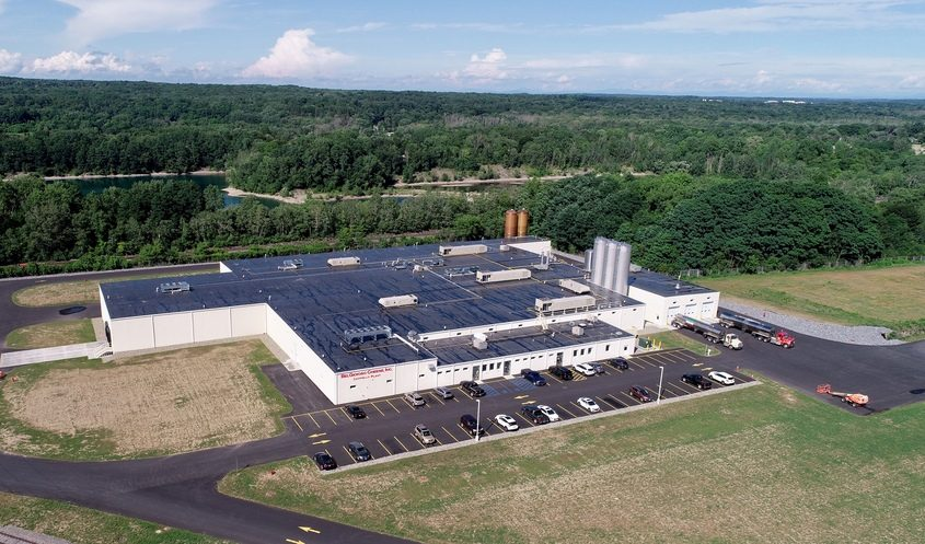 PHOTO PROVIDEDThe BelGioioso cheese factory in Glenville is shown in this undated aerial image.