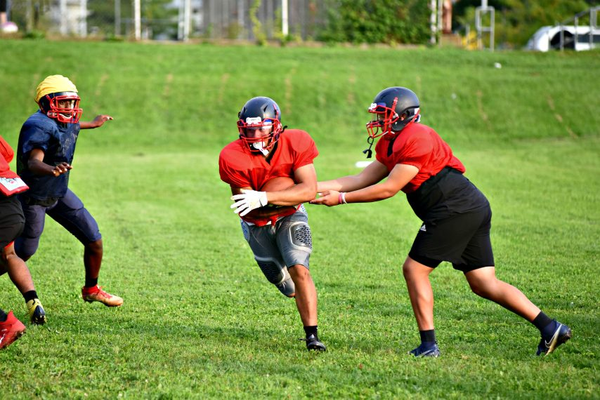 The Schenectady offensive unit got its first snaps off in more than week after being quarantined due to an exposure within the program Tuesday afternoon, Sept. 14.