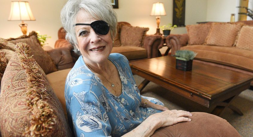 Cheryl Condos sits in the community room at her senior complex in Saratoga Springs on Sept. 1. Condos reached out to the senior center, a place she has visited for years, after a recent accident began to impact her life. The new program brought relief.
