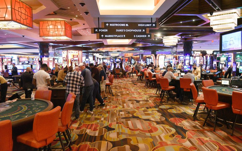 Rivers Casino in Schenectady is shown Friday, Sept. 3, 2021.