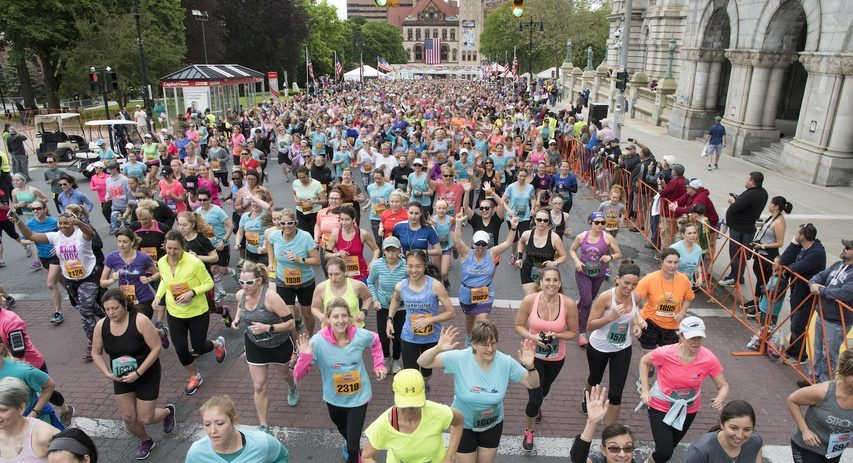 The 43rd Freihofer's Run for Women 5k will return to in-person competition on Saturday.