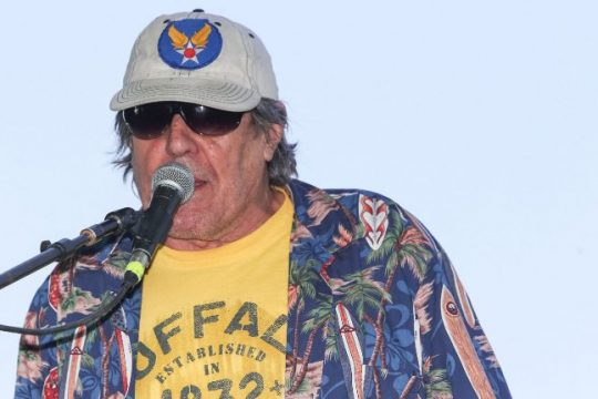Commander Cody, George Frayne IV, performs on stage during the 2013 Stagecoach California's Country Music Festival at The Empire Polo Club on April 26, 2013 in Indio, California.