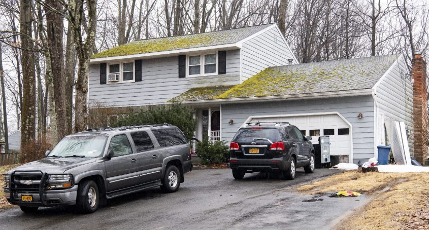 The property at 48 Fredericks Road in Glenville is seen onMarch 18, 2021.
