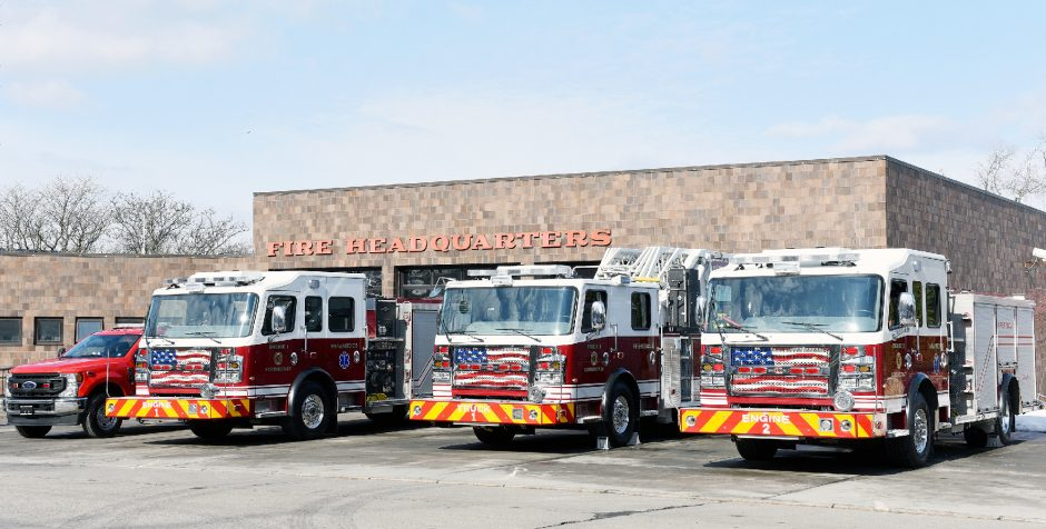 Schenectady Fire Department at Station 1 is seen onFeb. 24, 2021.