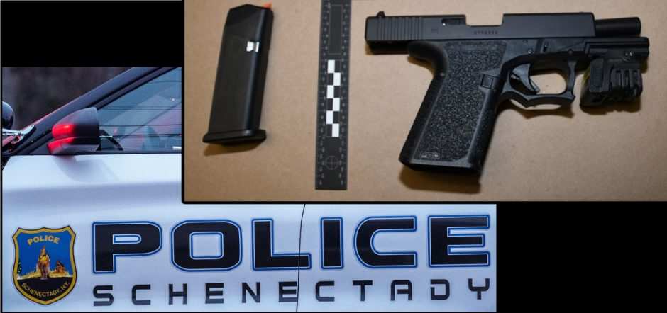 The gun police said they seized - Credit: Schenectady Police Department