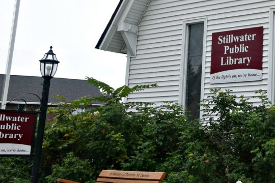 Exterior of the Stillwater Public Library at 662 Hudson Avenue in Stillwater.