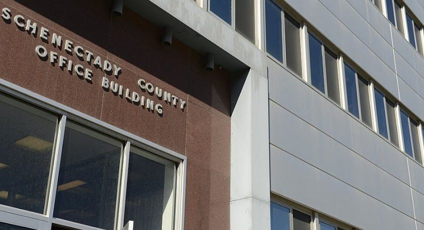 The Schenectady County Office Building, home to Family Court