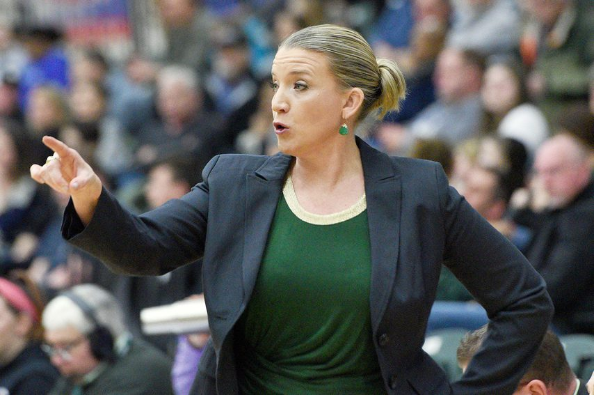 Ali Jaques is shown during a Siena game against Quinnipiac at Siena College in Loudonville on Saturday, January 4, 2020.