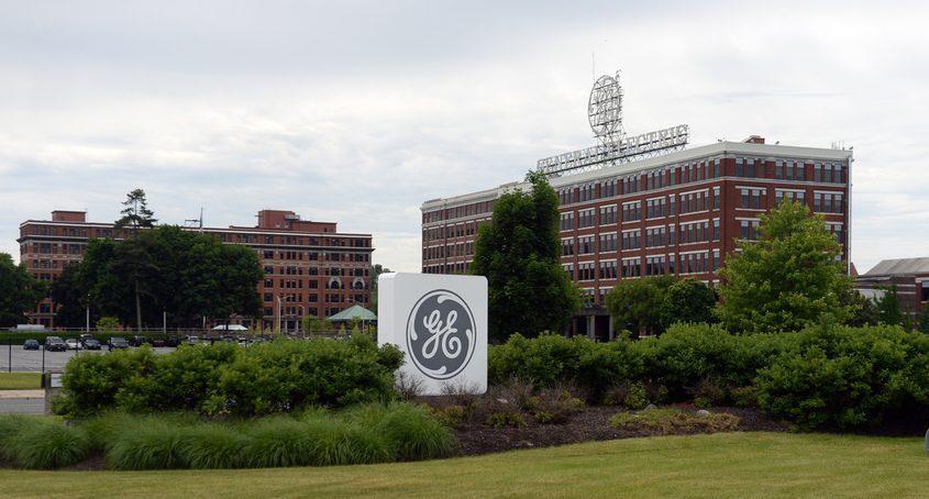 Schenectady General Electric main gate.