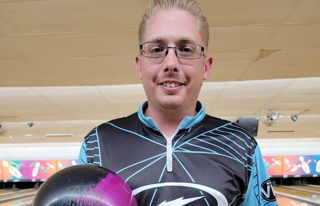 Chris Fawcett has lofty expectations on the lanes now that he's been sober for almost two years. He recently recorded his 80th perfect game and is averaging more than 250 in the Sportsman's Majors. (Photo provided)