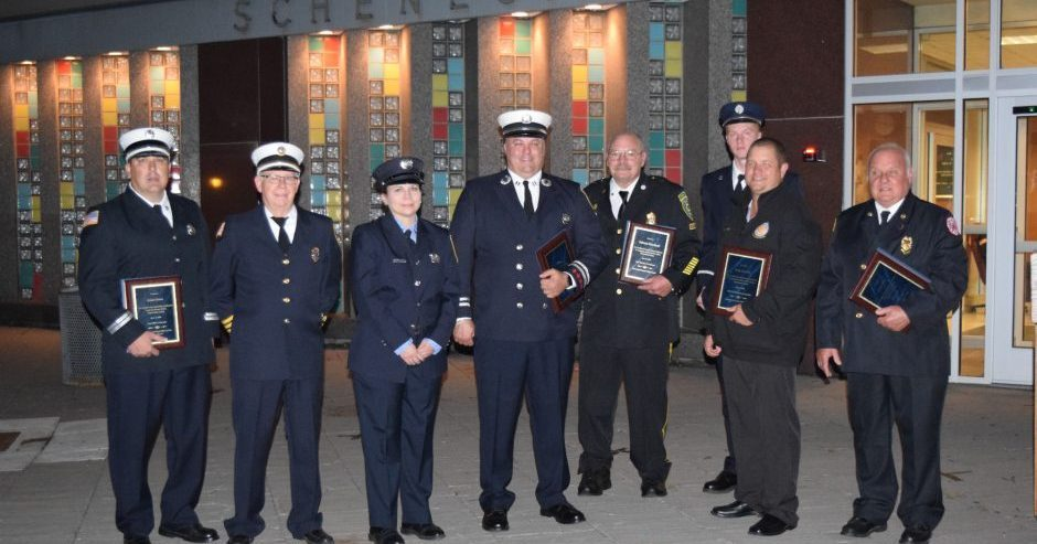 First responders were recognized this week by the Schenectady County Legislature.