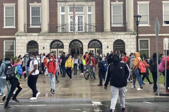 Students were dismissed early from Mont Pleasant Middle School in Schenectady after 17 teachers didn't show up for work.