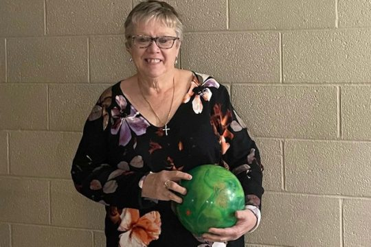 Sharon Sager is one of the most valuable Schenectady USBC board of directors members and junior coaches.