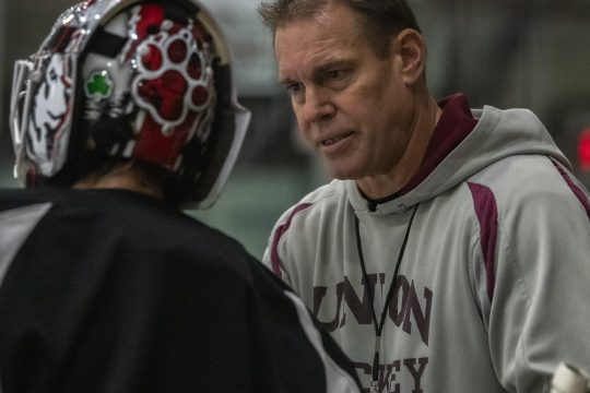 Union College men's hockey head coach Rick Bennett saw his team lose two games at Lake Superior State over the weekend.