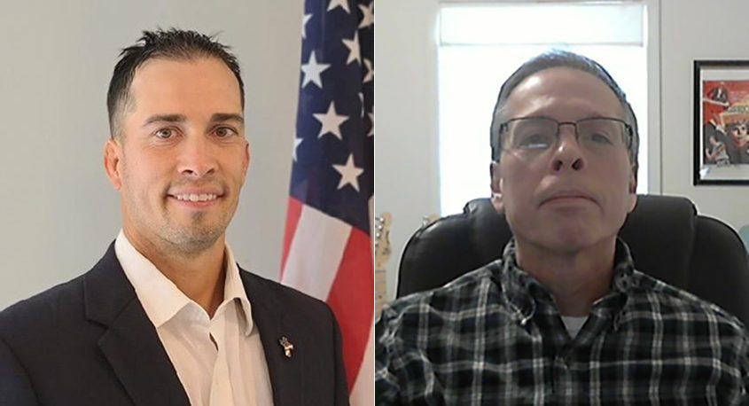 Joshua Cuomo, left, is running for the District 4 seat of the Schenectady County Legislature andDominic Cuomo in Root in Montgomery Countyis currently seeking his third term on the Town Council.